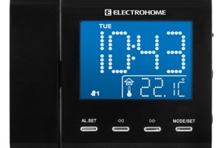 Electrohome EAAC600 AM/FM Projection Clock Radio