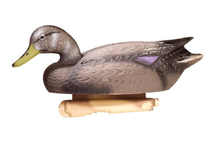 Final Approach Hi-Def Floating Black Duck Decoys