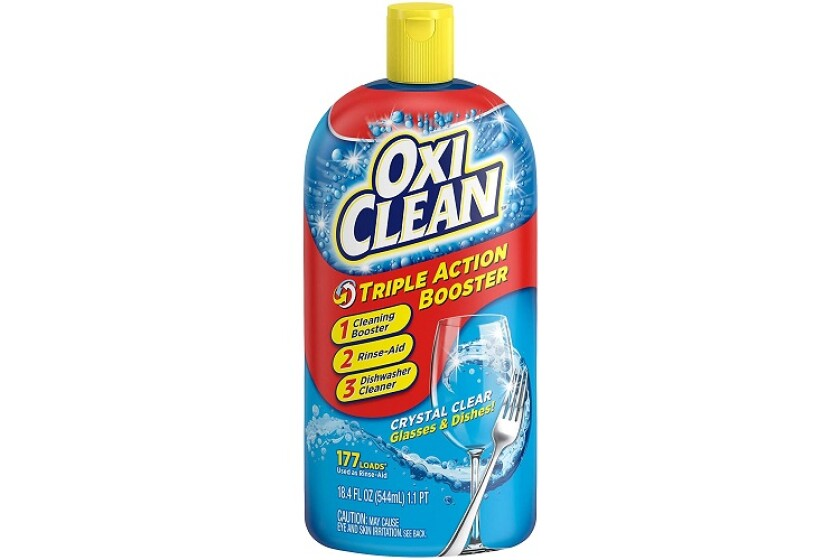 OxiClean Triple Action Dishwashing Booster