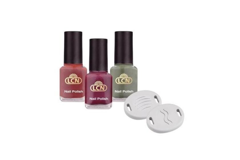 best LCN Magnetic Nail Polish New Colours Set
