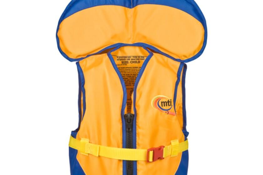 MTI Child Life Jacket with Collar