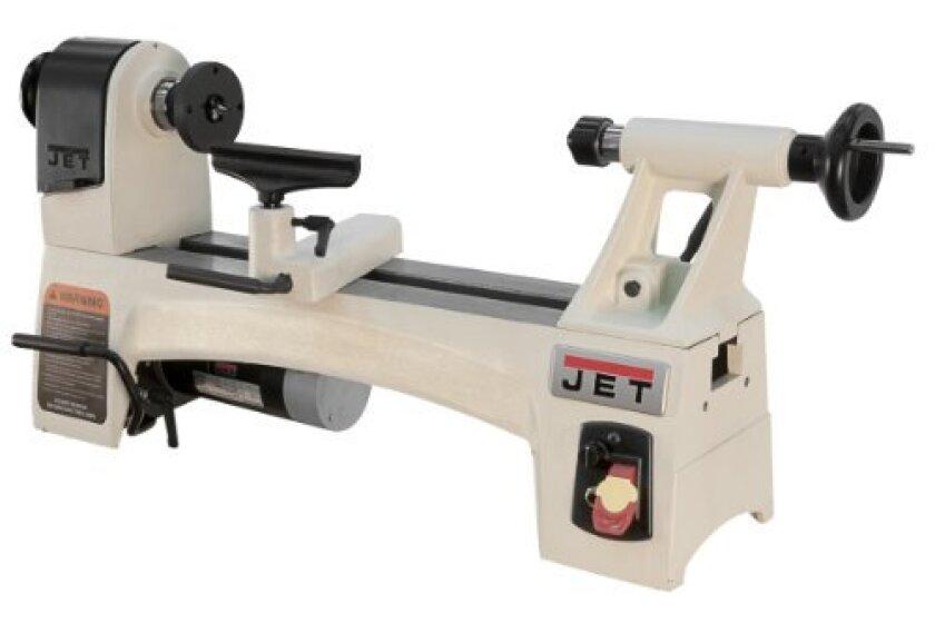 "Jet 10"" x 15"" Variable Speed Wood Working Lathe (JWL-1015VS)"