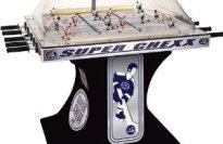 ICE Super Chexx Non-Coin Deluxe Home Bubble Hockey Table