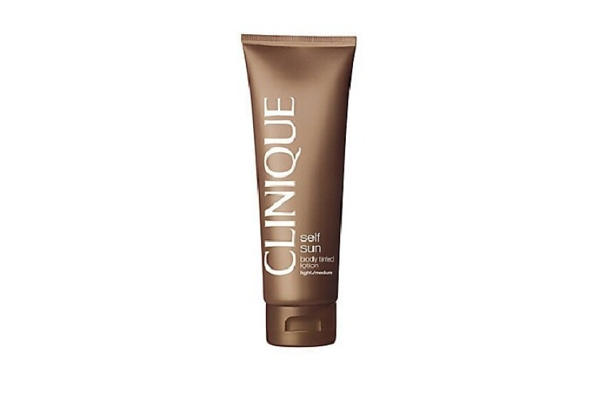 best Clinique Self-Sun Body Tinted Lotion