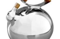 Nambe Tea Kettle, Gourmet Bulbo
