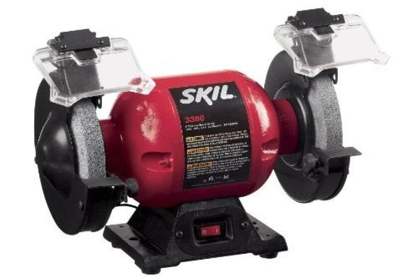 """SKIL 3380-01 120-Volt 6"""" Bench Grinder"""