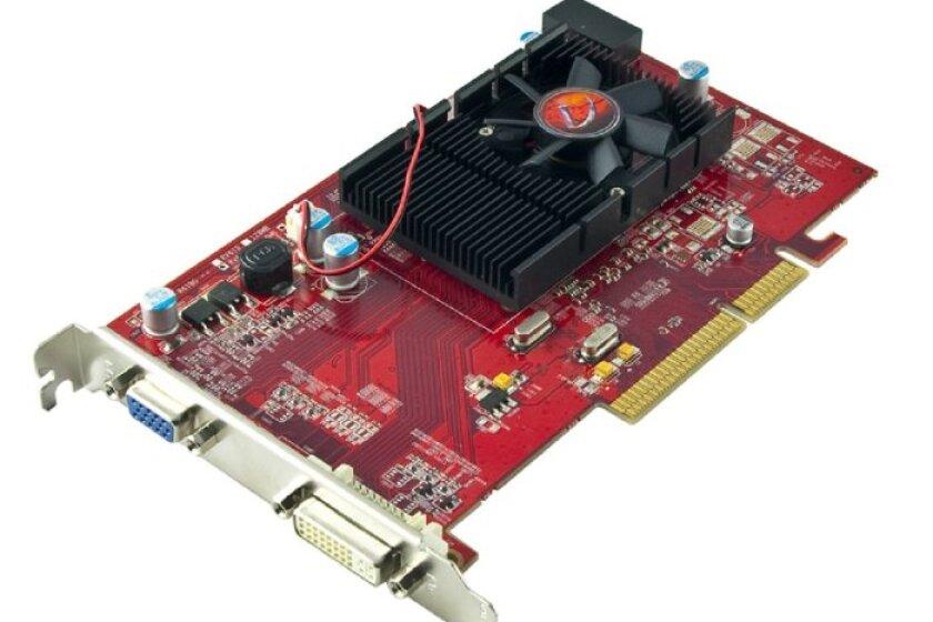 VisionTek 900374 Radeon HD 3450 512MB AGP 8x Graphics Card
