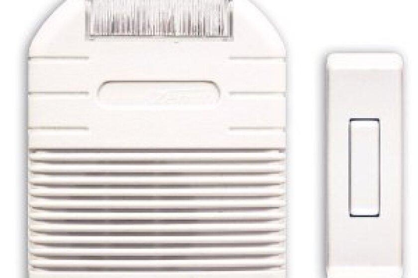 Heath Zenith Wireless Door Chime with Strobe Light Alert