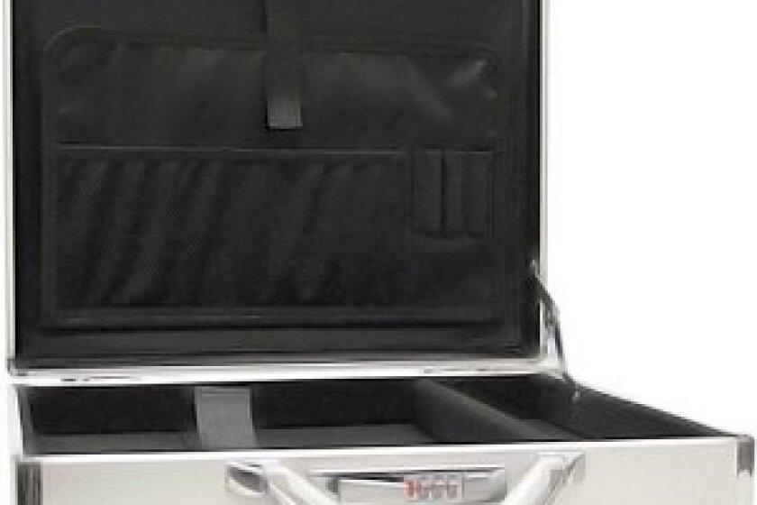 Shoptronics Aluminum Laptop Travel Executive Attache