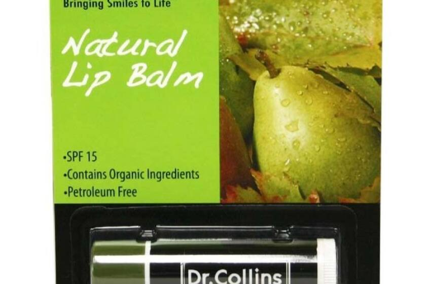 Dr. Collins Natural Lip Balm Iced Pear