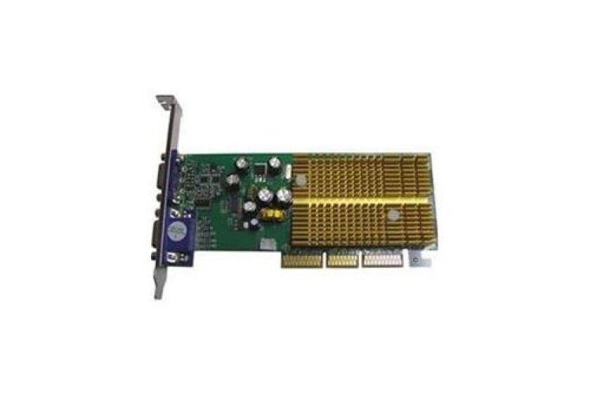 Jaton 3DForce6200Twin nVidia Geforce 6200 Dual VGAs 256MB DDR AGP 8X 10 300 Video Card