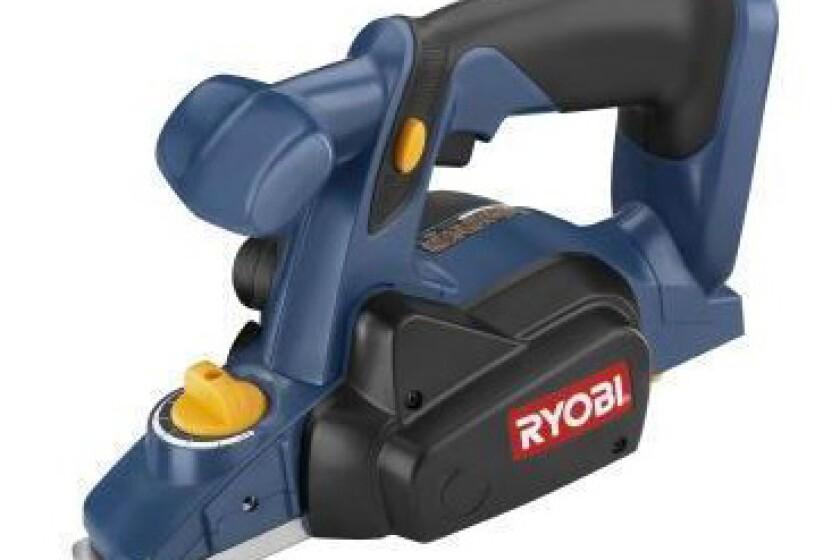 Ryobi P610, 18 Volt One+ Hand Planer