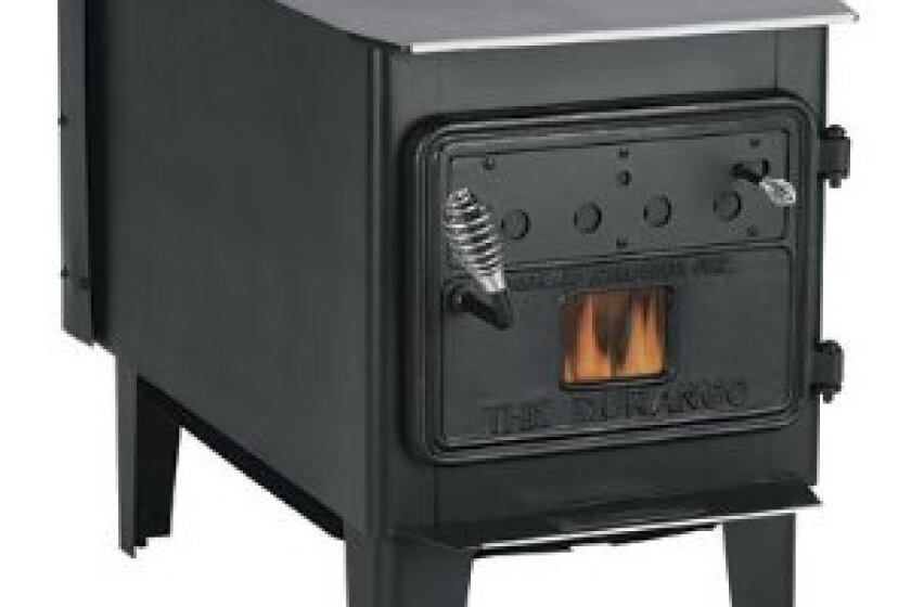 Vogelzang Durango Wood-Burning Stove with Blower TR008