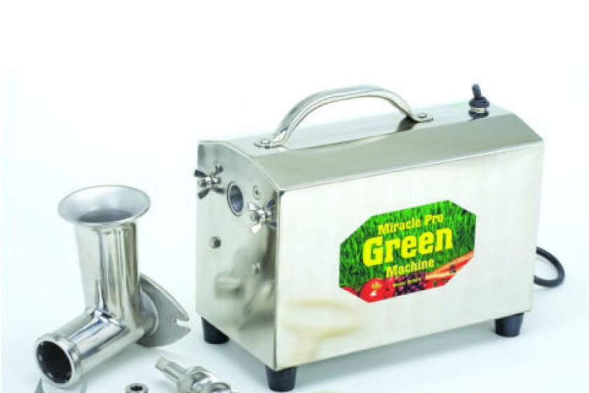 Miracle Green Machine MJ575 Wheatgrass Juicer