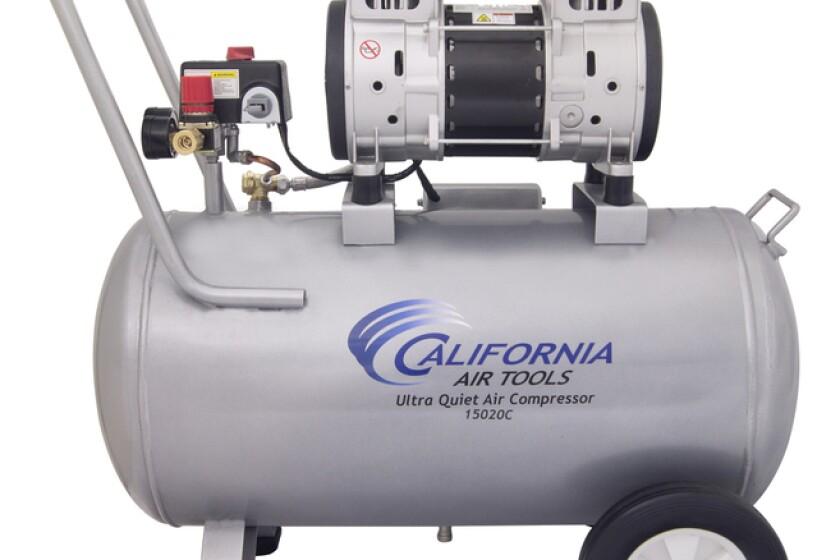 California Air Tools CAT-2010A 1.0 Hp 1.6-Gallon Aluminum Tank Air Compressor