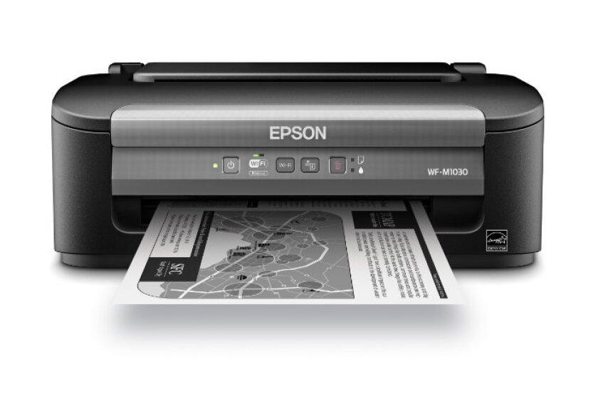 Epson WorkForce WF-M1030 Wireless Monochrome Printer