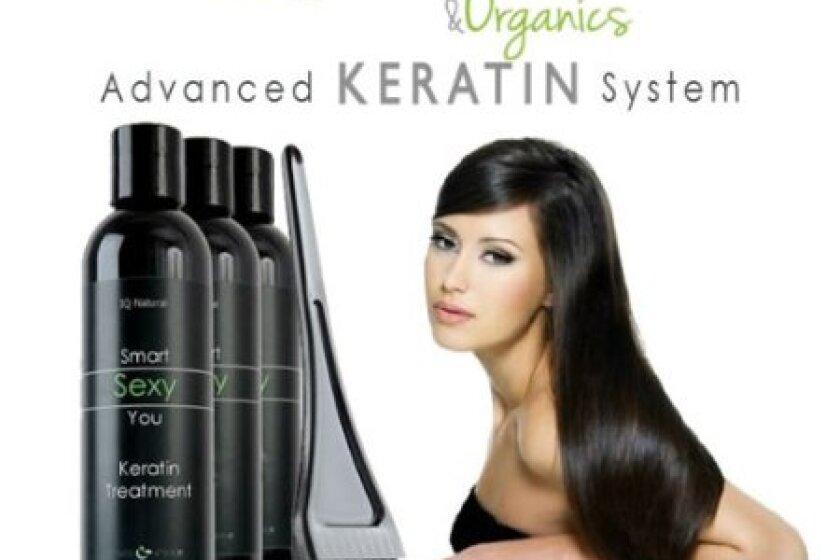 IQ Natural Advanced Keratin Straightening System