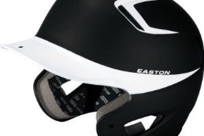 Easton Two-Tone Natural Grip Senior Batting Helmet