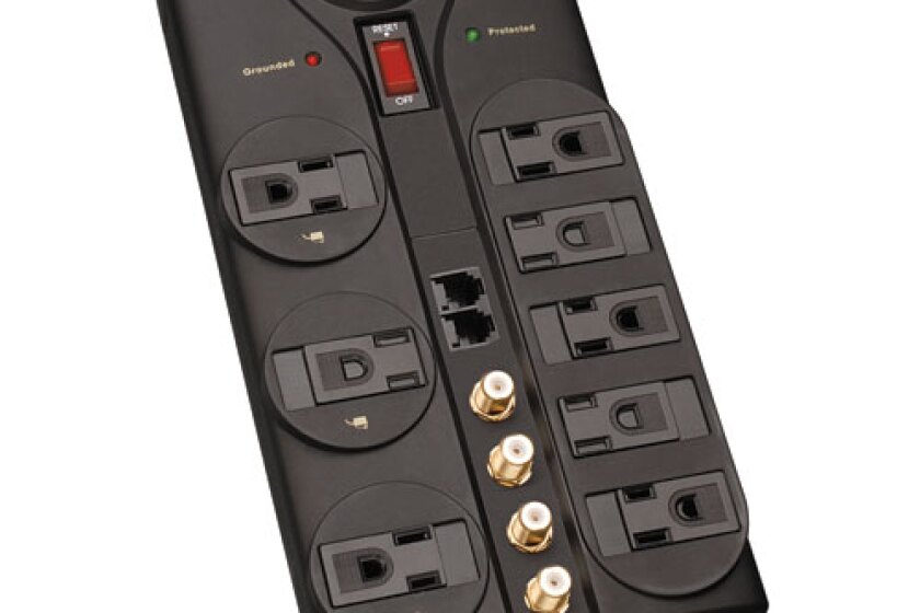 Tripp Lite Protect It! 8-Outlet A/V Surge Protector (AV810)
