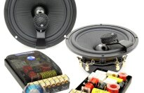 "CDT Audio Braxial ES-62i 6.5"" 180W RMS 2-Way Component Speakers System"