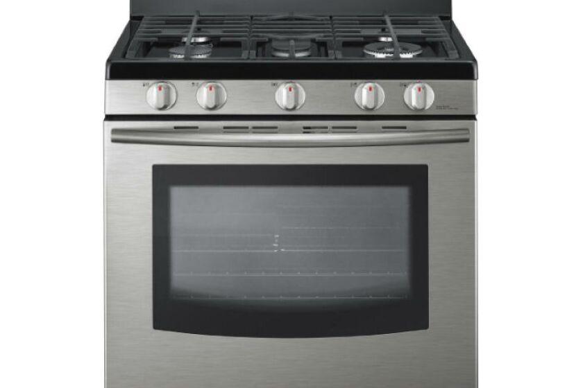"""Samsung 30"""" Stainless Steel Gas Range - FX710BGS"""