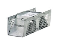 Havahart 1025 Live Animal Two-Door Squirrel, Chipmunk, Rat, and Weasel Cage Trap