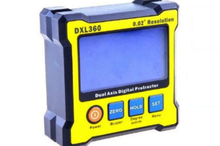 DXL360 Digital Protractor Angle finder