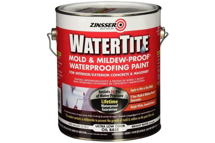best Zinsser Watertite Waterproofing Paint
