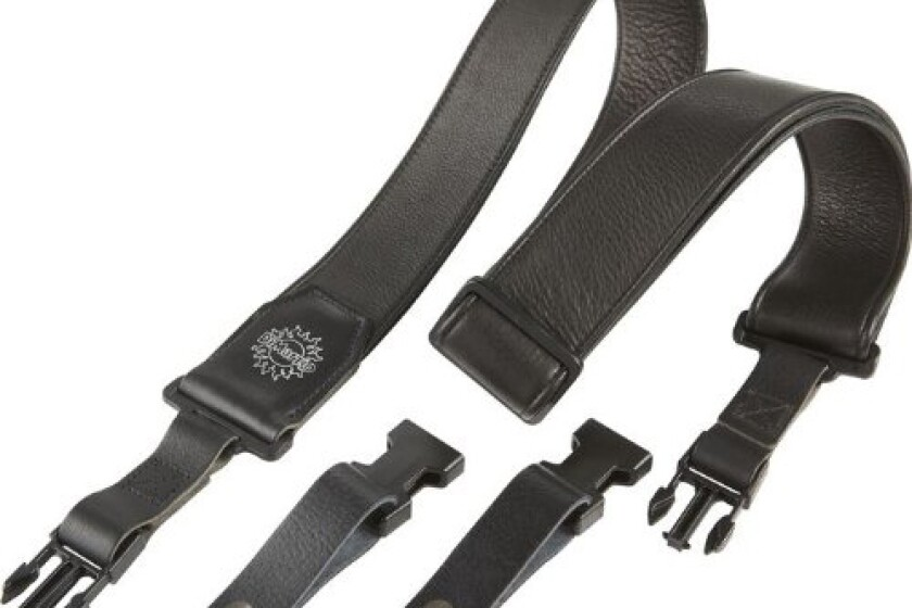DiMarzio Luxury Leather ClipLock Strap