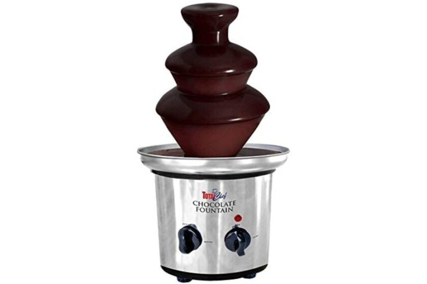 best total chef chocolate fondue fountain