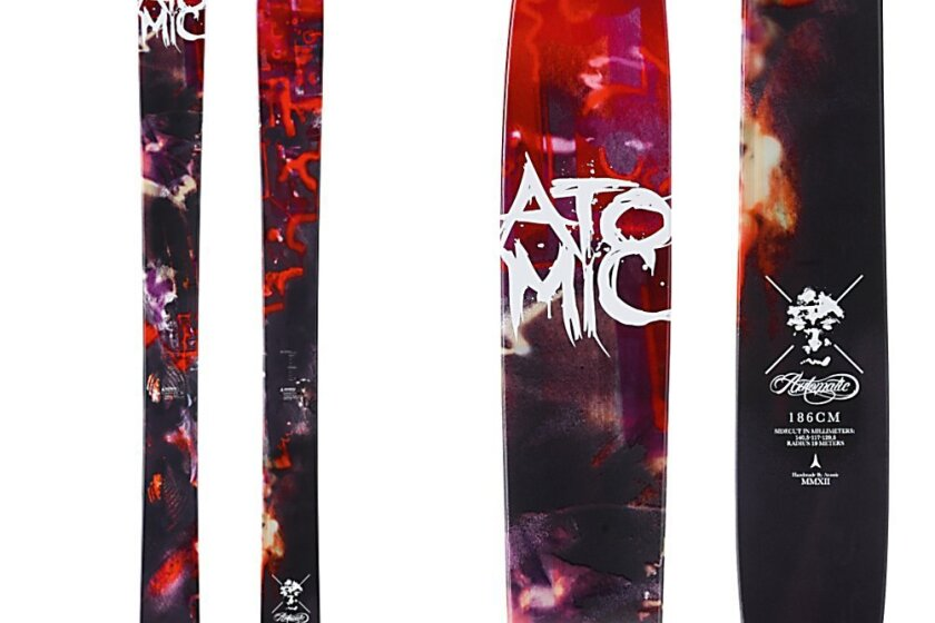 Atomic Automatic Skis 2013