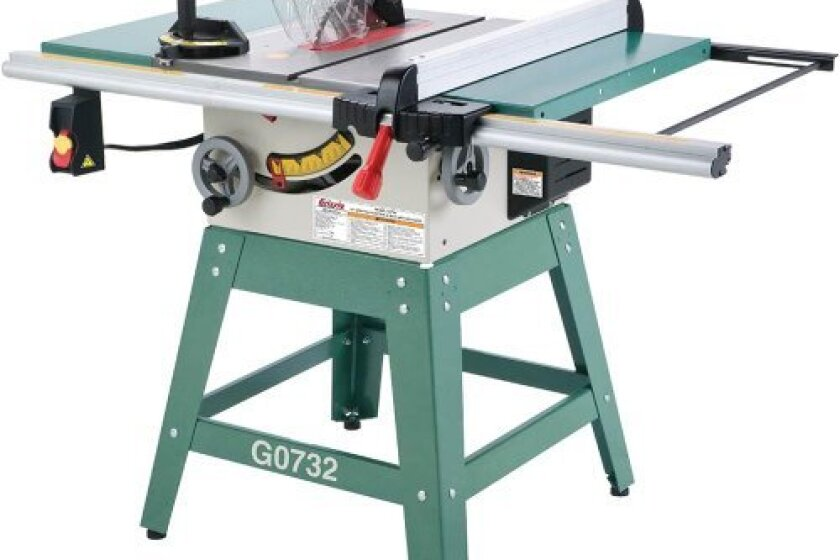 Grizzly G0732 Contractor Style Saw
