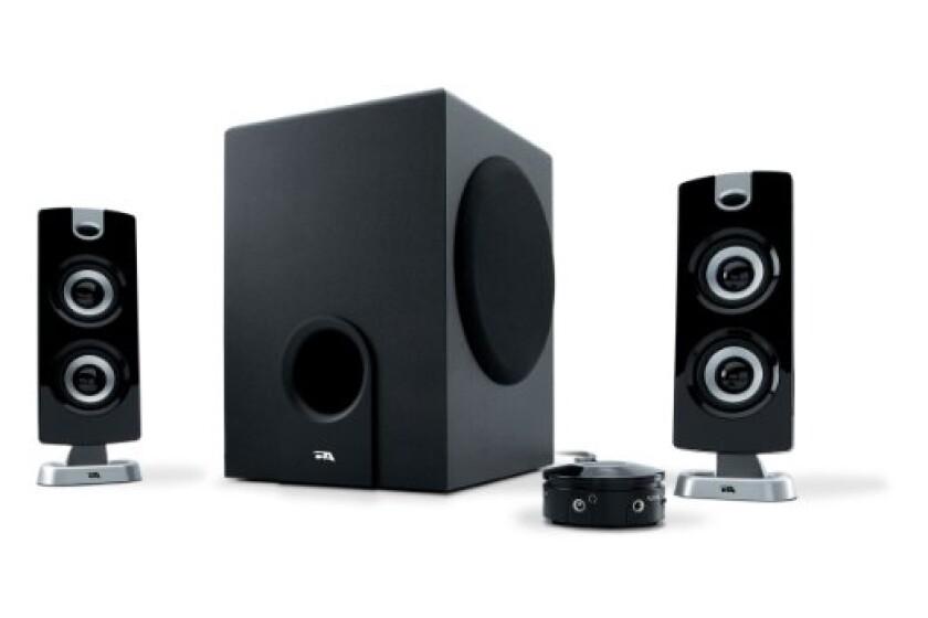 Cyber Acoustics Platinum CA-3602 3-Piece Speaker System