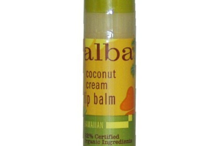 Alba Natural Hawaiian Lip Balm Coconut Cream