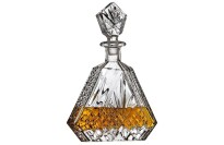 best Godinger Dublin Triangular Crystal Decanter