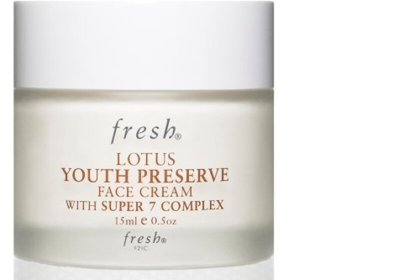 Fresh Lotus Youth Preserve Face Cream With Super 7 Complex