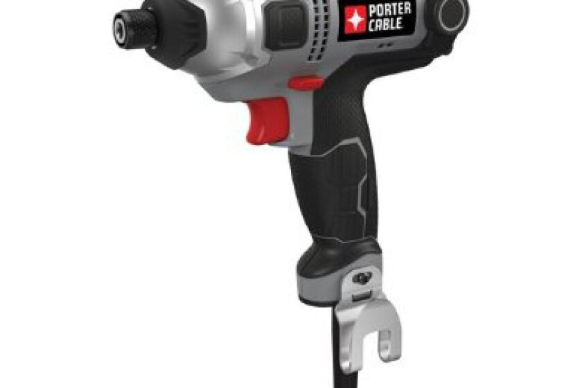 Porter Cable PCE201, 4.3 Amp 1/4 Inch Hex Chuck Impact Driver