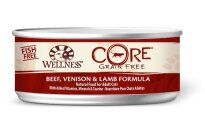 Wellness CORE Grain Free Beef, Venison, and Lamb Canned Cat Food
