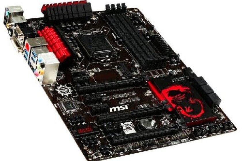 MSI Computer Corp. Motherboard ATX DDR3 1333 LGA 1150 Motherboard