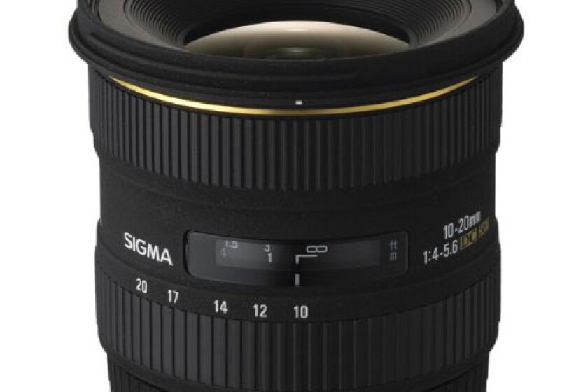 Sigma 10-20mm EX DC HSM Lens For Nikon