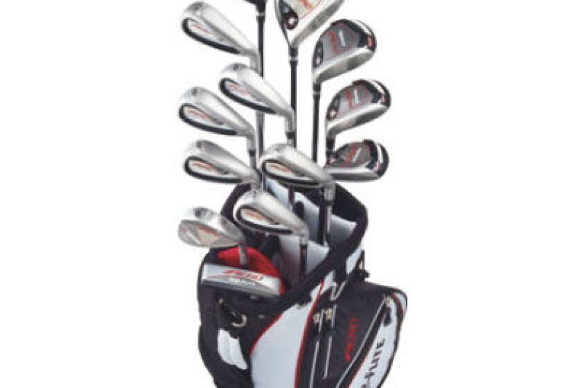 Top Flite Aero Golf Club Set