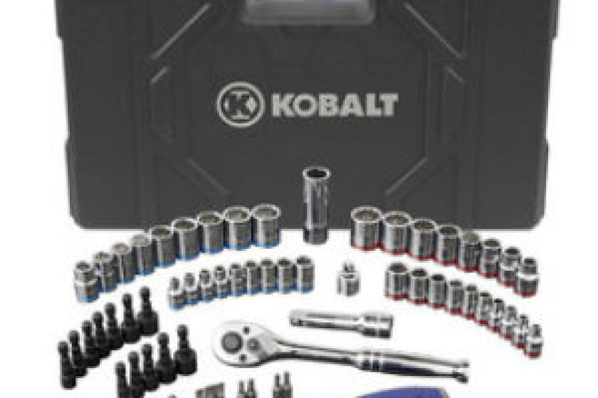 Kobalt 63-Piece Standard (SAE) and Metric Combination Mechanic's Tool Set
