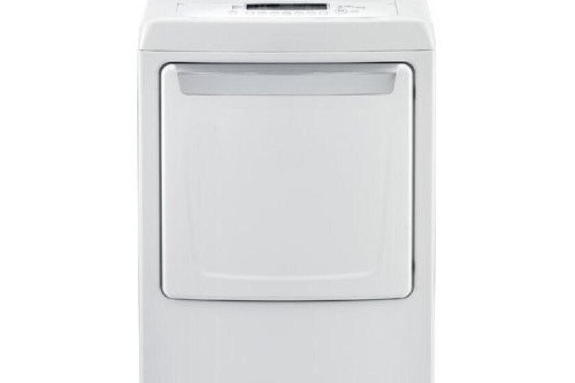 LG Electric Front Load Dryer - DLE1101W