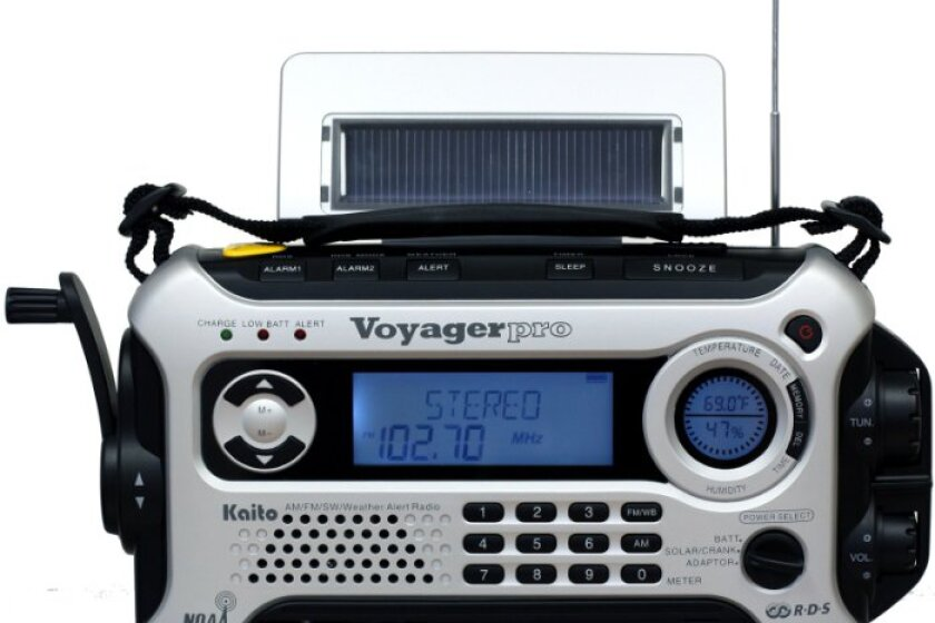 Kaito Voyager Pro KA600 Digital Solar/Dynamo AM/FM/LW/SW & NOAA Weather Emergency Radio