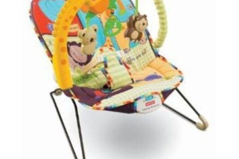 Baby Musical Bouncer With Activity Center (Luv U Zoo)