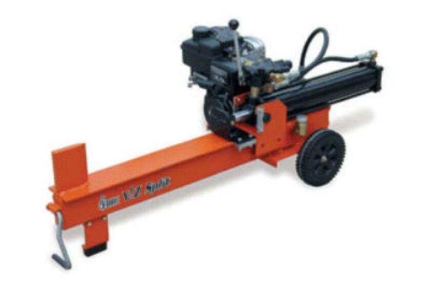 Brave E-Z Split 8 Ton 5.5 hp Log Splitter