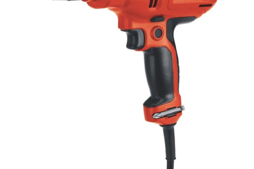 Black & Decker DR260B Variable-Speed Drill with 3/8-Inch Chuck