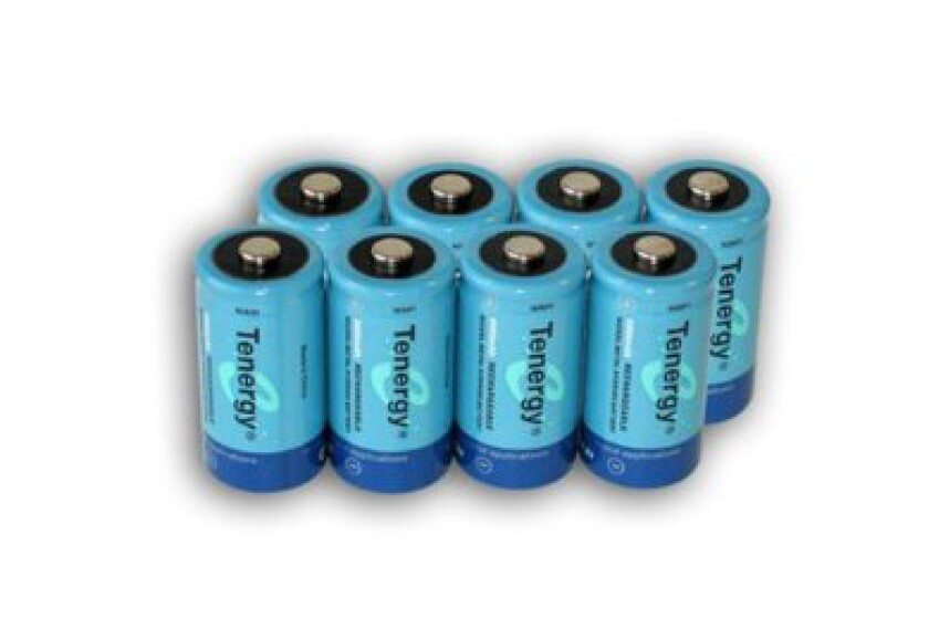 Tenergy High-Capacity NiMH Rechargeable Batteries
