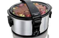 Westinghouse WSC801RD 8-Quart Metallic Slow Cooker