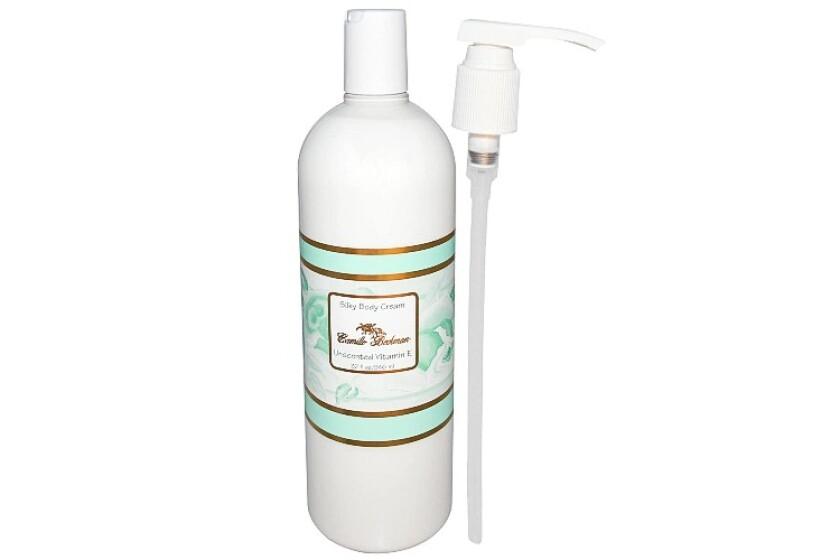 best Camille Beckman Unscented Vitamin E Silky Body Cream